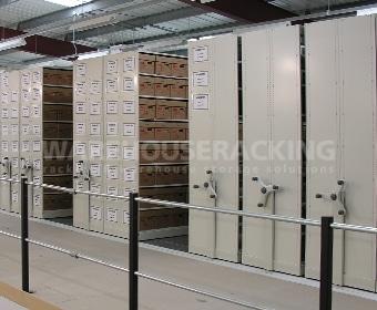 Mobile Shelving Box Storage